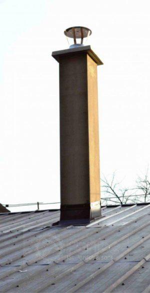 Oplechovanie komína