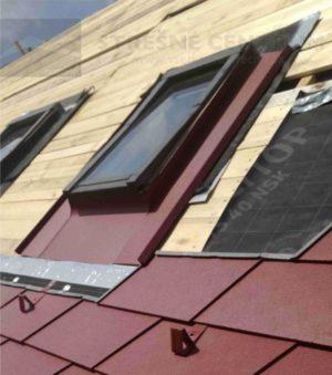 Oplechovanie strešného okna