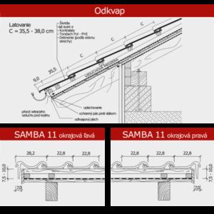 TONDACH SAMBA 11