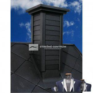 Kazetové oplechovanie komína HOK