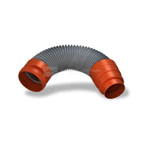 Elastická prepojovacia rúra s redukciou Ø 125 / 125, 110, 100 mm